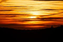 Sonnenuntergang Halde Lydia 041012