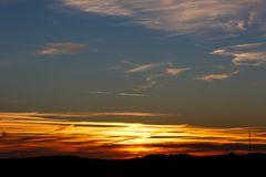 Sonnenuntergang Halde Lydia 041012 totale