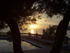 Sonnenuntergang (Hapimag-Anlage, Paguera)