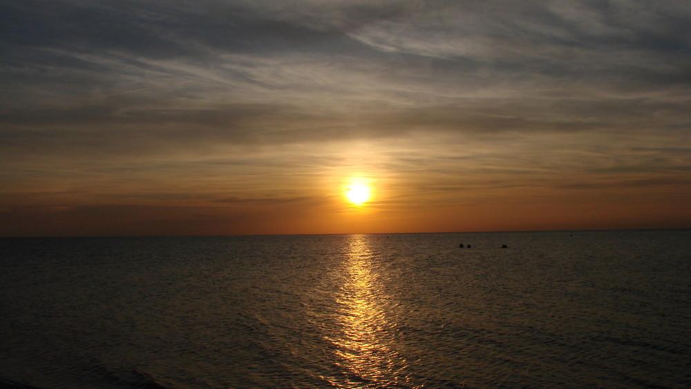 Sonnenuntergang - Heiligenhafen