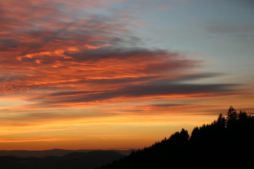Sonnenuntergang Herbst 2008 2/2