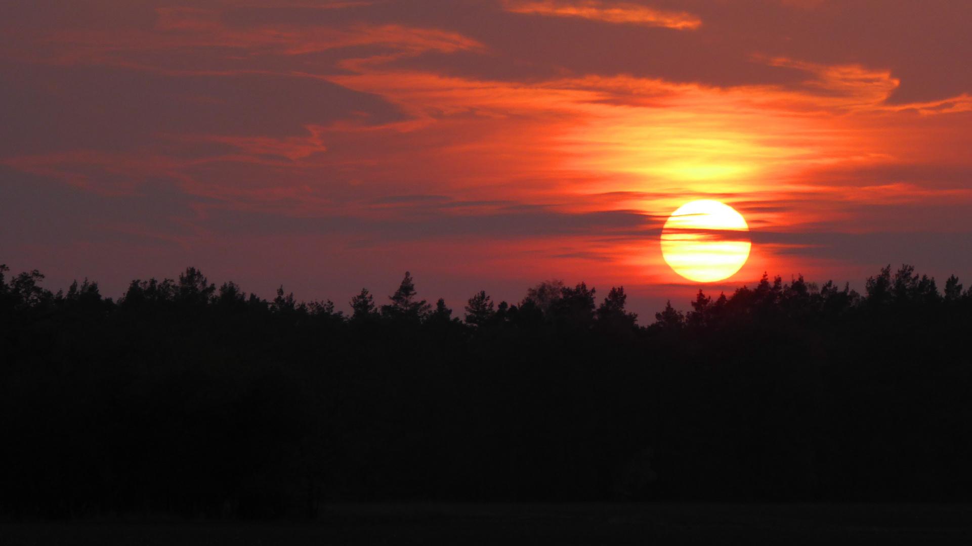 Sonnenuntergang heute Abend