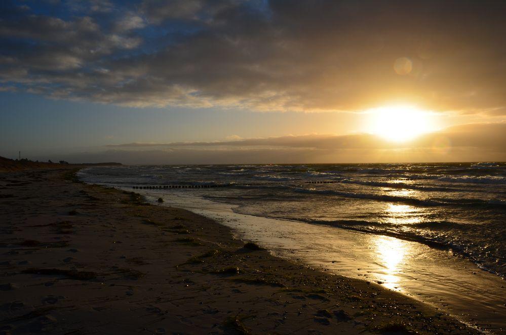 Sonnenuntergang Hiddensee
