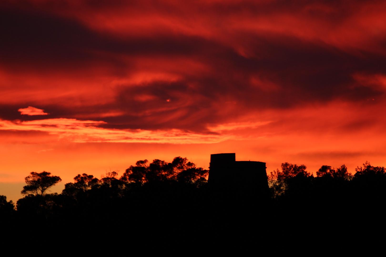 Sonnenuntergang Ibiza V