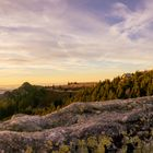 Sonnenuntergang im Arberland