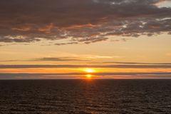 Sonnenuntergang im Bottnischen Meerbusen