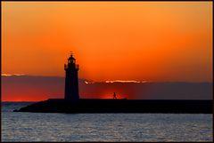 Sonnenuntergang im Hafen von Andratx