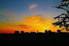 Sonnenuntergang im Juni