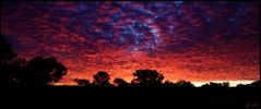 Sonnenuntergang im Namib Naukluft N.P.