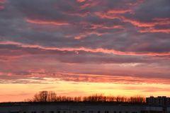 Sonnenuntergang im Nordwesten von Rostock