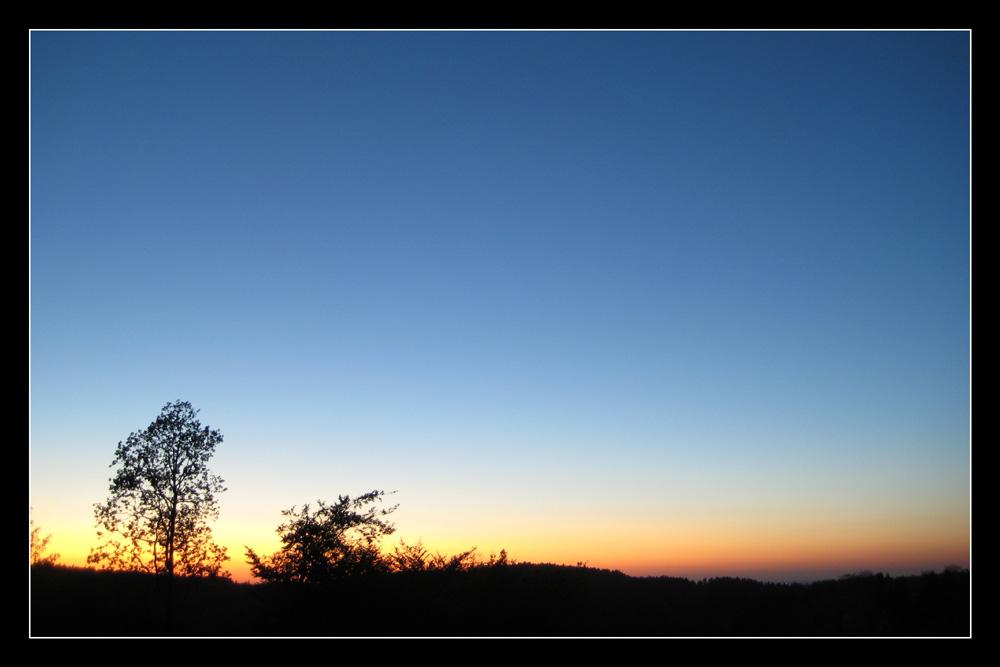 Sonnenuntergang im Sauerland (3)
