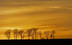 Sonnenuntergang im Sauerland I