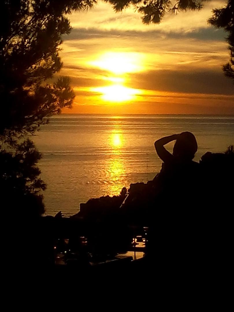 Sonnenuntergang im Süden