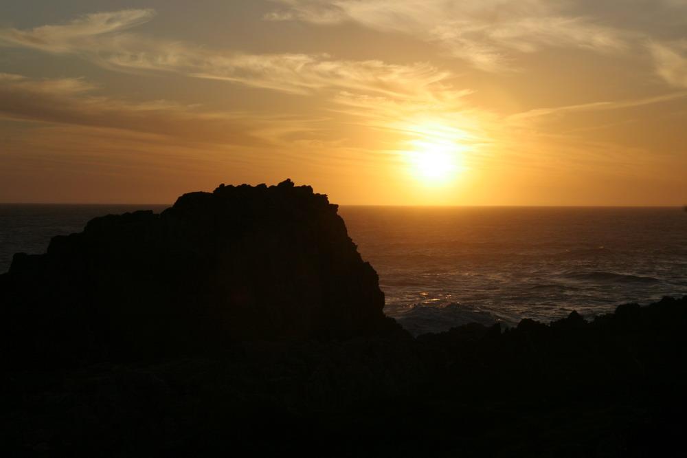 Sonnenuntergang im Wilderness NP