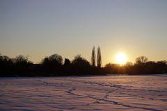 Sonnenuntergang im Winter - Bild 1