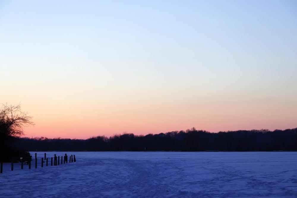 Sonnenuntergang im Winter - Bild 10