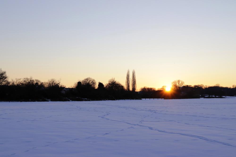 Sonnenuntergang im Winter - Bild 4
