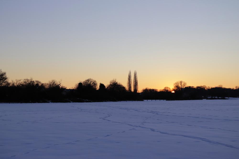 Sonnenuntergang im Winter - Bild 6