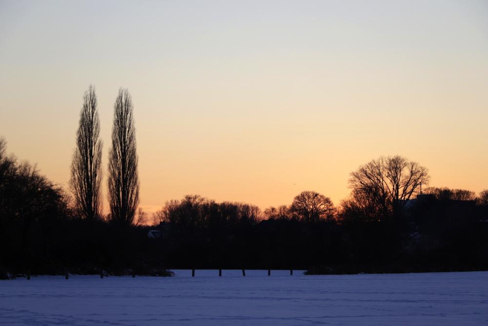 Sonnenuntergang im Winter - Bild 7