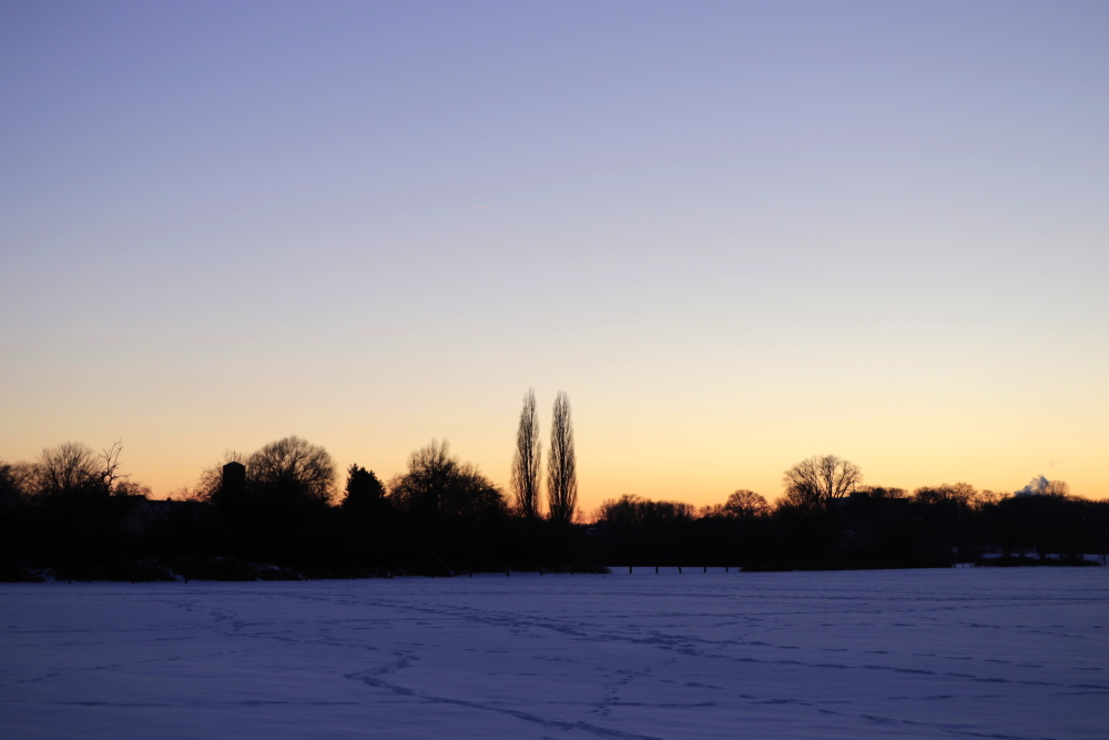 Sonnenuntergang im Winter - Bild 8