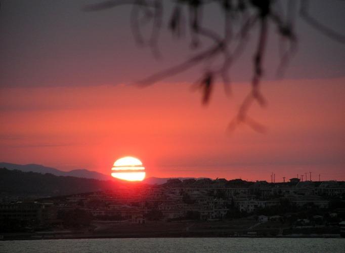 Sonnenuntergang in Ayvalik