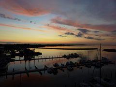 Sonnenuntergang in  Barth