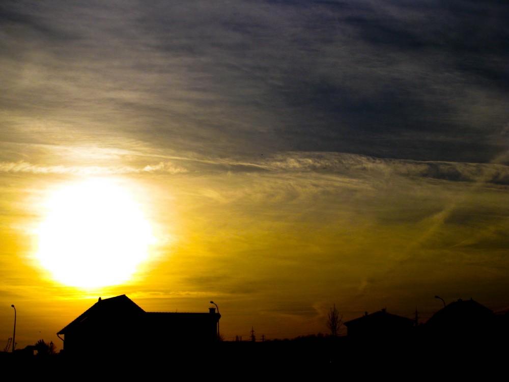 Sonnenuntergang in Bretzenheim