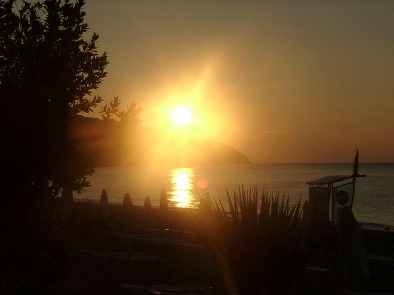 Sonnenuntergang in Bulgarien