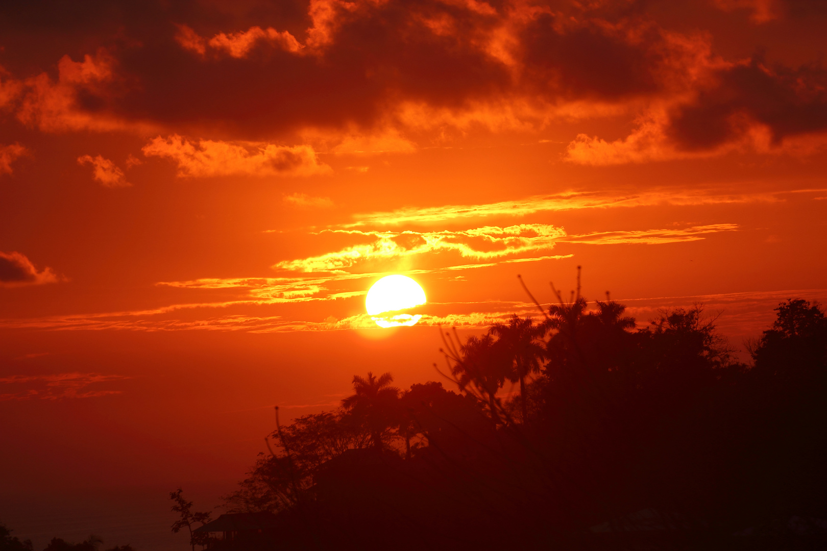 Sonnenuntergang in Costa Rica