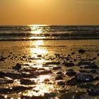 Sonnenuntergang in Dänemark / Henne Strand 1