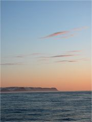 Sonnenuntergang in der Barentssee