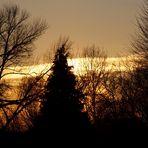 Sonnenuntergang in der Hellinghauser Mersch