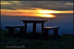 Sonnenuntergang in der Rhön...