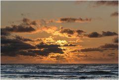Sonnenuntergang in der Tannisbucht