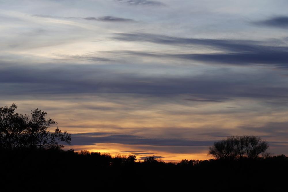 Sonnenuntergang in Dessau - Bild 1