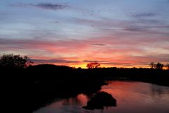 Sonnenuntergang in Dessau - Bild 11