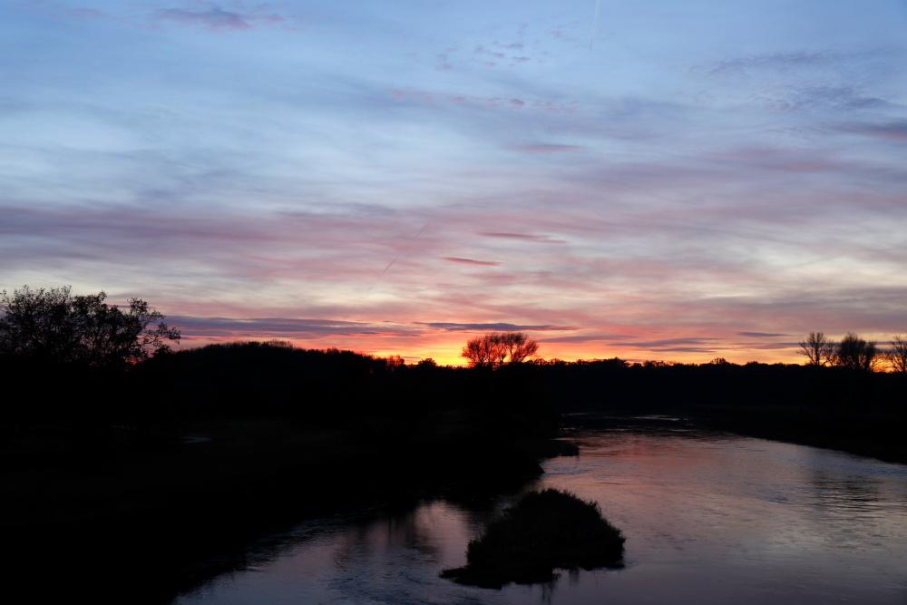 Sonnenuntergang in Dessau - Bild 12