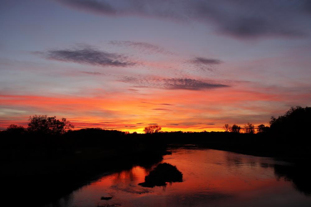 Sonnenuntergang in Dessau - Bild 9
