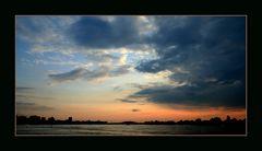 Sonnenuntergang in Duisbur -Marxloh...