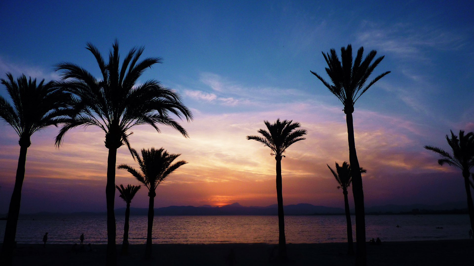 Sonnenuntergang in El Arenal
