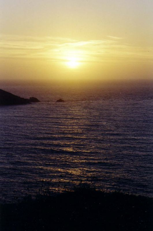 Sonnenuntergang in England...