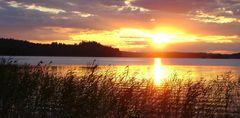 Sonnenuntergang in Finnland 2