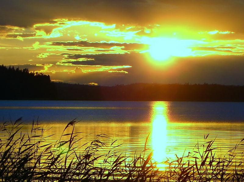 Sonnenuntergang in Finnland 4