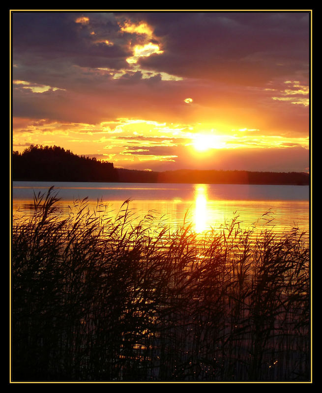 Sonnenuntergang in Finnland 6