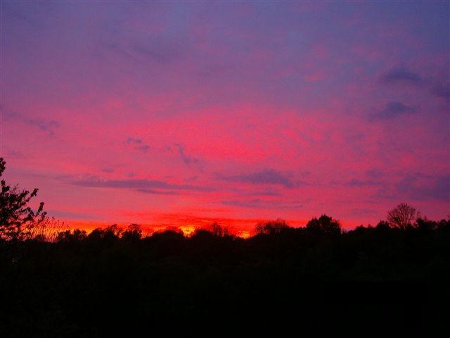 Sonnenuntergang in Flensburg 2. Bild