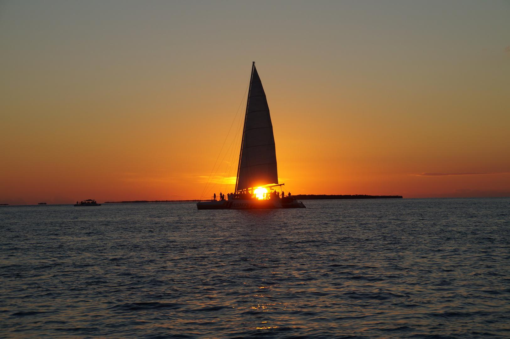 Sonnenuntergang in Florida
