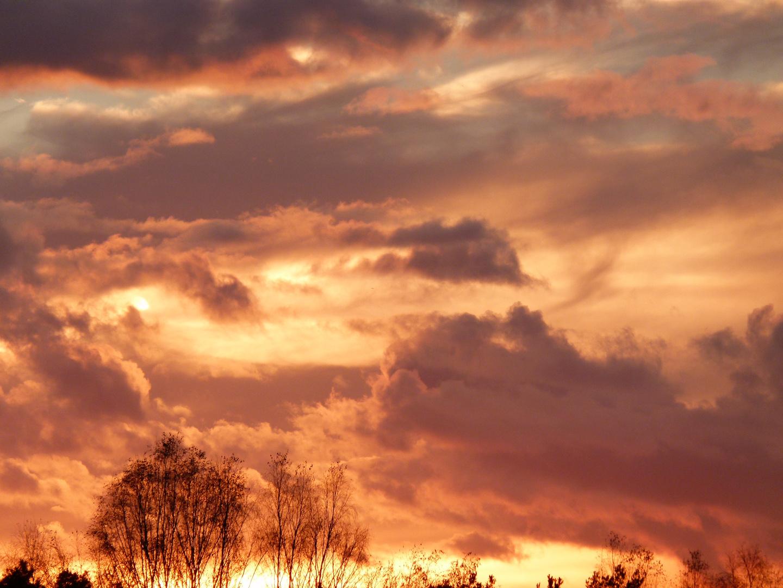 Sonnenuntergang in Grafenwöhr