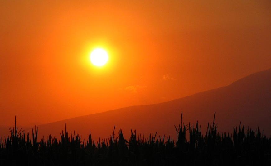 Sonnenuntergang in Griechenland II
