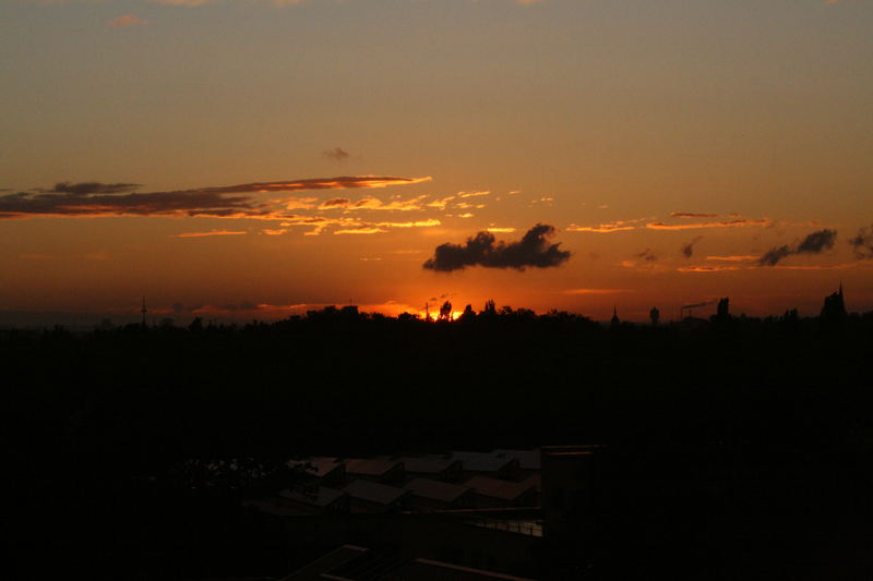 Sonnenuntergang in Heidelberg 2