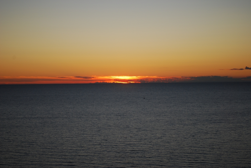 Sonnenuntergang in Hrvatska